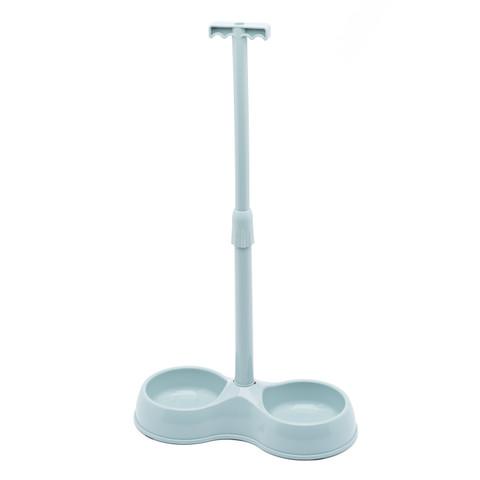 No Bend Pet Food Bowl - Light Grey