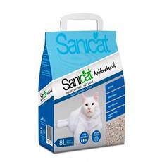 Sanicat Antibacterial Non Clumping Cat Litter 8 Litre