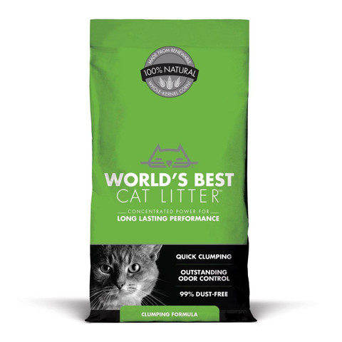 Worlds Best Clumping Cat Litter 6.35kg
