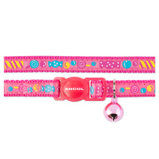 Ancol Pink Sweeties Cat Collar