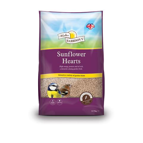 Walter Harrisons Wild Bird Sunflower Hearts 12.75kg