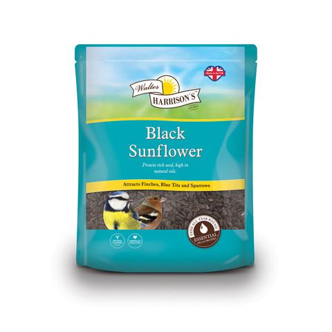 Walter Harrisons Wild Bird Black Sunflower Seeds 1.6kg