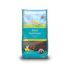 Walter Harrisons Wild Bird Black Sunflower Seeds 12.75kg