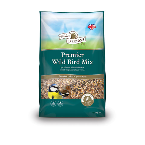 Walter Harrisons Premier Wild Bird Mix 12.75kg