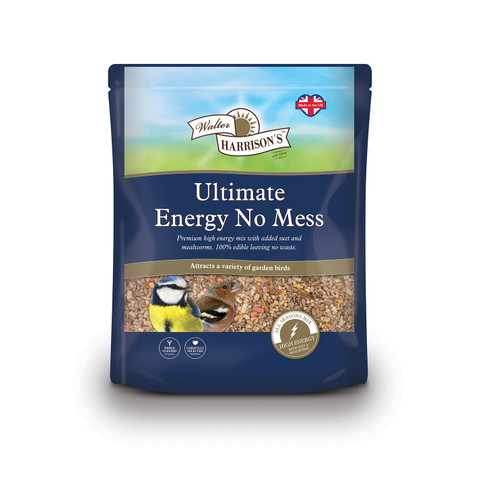 Walter Harrisons Wild Bird Ultimate Energy No Mess Mix 12.75kg