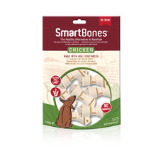 Smartbones Mini Chicken Bone Chews For Dogs 8 Pack
