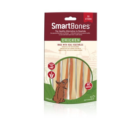 Smartbones Chicken Stick Chews For Dogs 5 Pack To 14 X 5 Pack