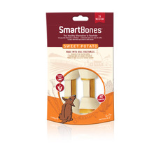 Smartbones Medium Sweet Potato Bone Chews For Dogs 2 Pack