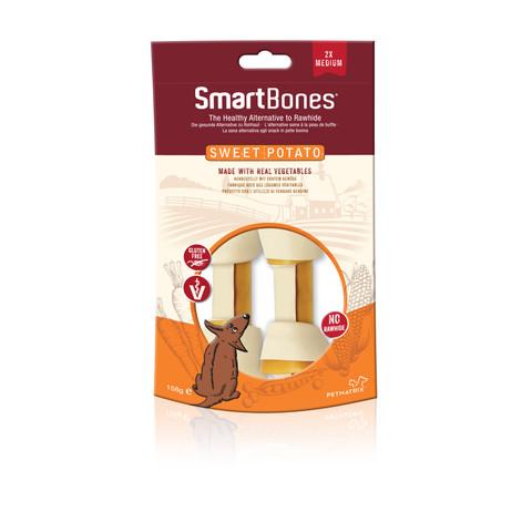 Smartbones Medium Sweet Potato Bone Chews For Dogs 2 Pack To 7 X 2 Pack