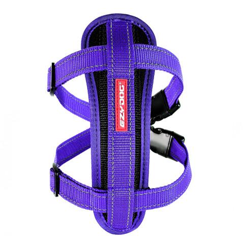 Ezy Dog Purple Chest Plate Dog Harness Medium