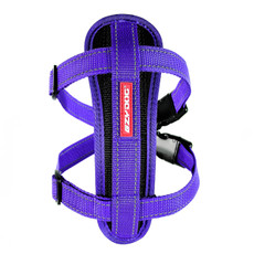 (d) Ezy Dog Purple Chest Plate Dog Harness X Large