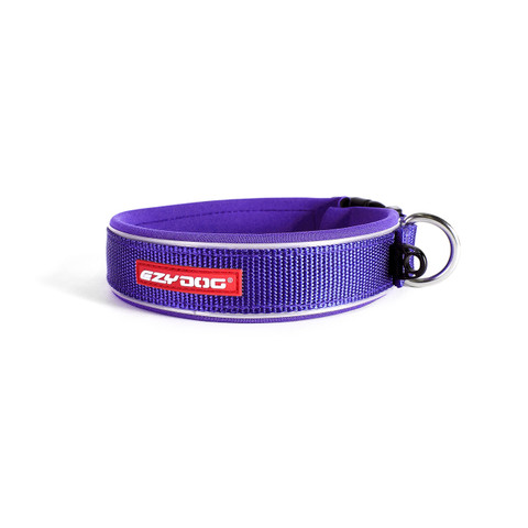 Ezy Dog Purple Neo Dog Collar Small