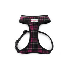 Ancol Comfort Fit Dog Harness In Purple Tartan X Small