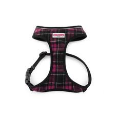 Ancol Comfort Fit Dog Harness In Purple Tartan Medium