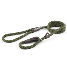 Ancol Heritage Nylon Green Rope Slip Dog Lead 1.5m X 8mm