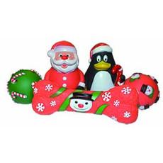 Happy Pet Christmas Vinyl Character Dog Toys