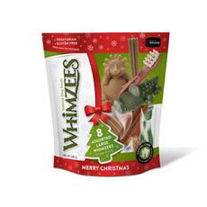 Whimzees Christmas Assorted Variety Value Pack Dental Treats For Large Dogs