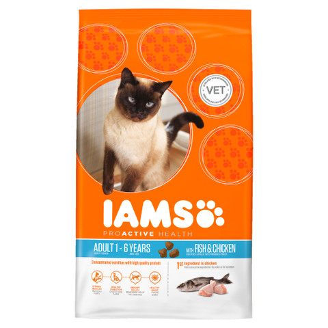 Iams Adult Cat Food Ocean Fish And Chicken 3kg To 10kg