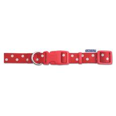 Ancol Indulgence Fashion Vintage Red Polka Dot Adjustable Dog Collar Medium To Large