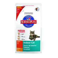 Hills Science Plan Indoor Adult Cat Food With Chicken 1.5kg To 4kg