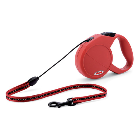 Flexi Classic Extending Cord Dog Lead Red Small To Medium