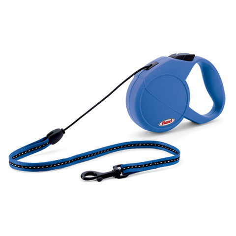 Flexi Classic Extending Cord Dog Lead Blue Small To Medium