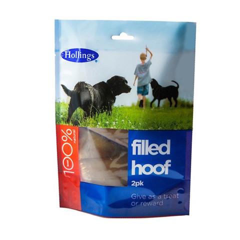 Hollings Filled Hoof Dog Treat 2 Pack
