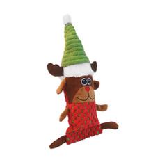 Dog Life Christmas Squeaky Bottle Crunching Dog Toy