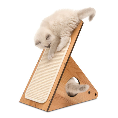 Vesper V-playstation White Walnut Cat Discovery Activity Centre