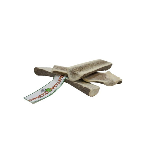 Split Easy Deer Antler Natural Dog Chew Medium To 12 X Medium