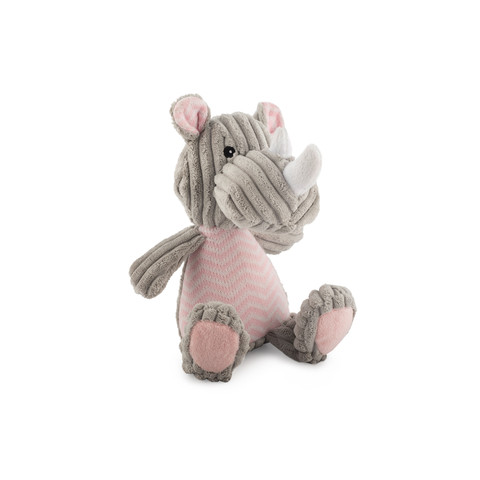 Ancol Comfort Knitted Rhino Dog Toy