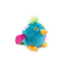 Ancol Chaser Bouncing Flower Birds Blue Dog Toy Medium