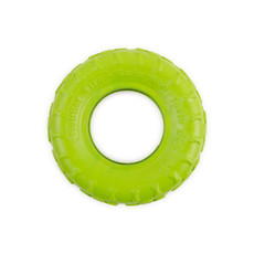 Ancol Chewer Rubber Tyre Dog Toy Medium