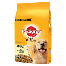 Pedigree Dry Dog Food With Chicken And Vegetables 12kg