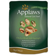 Applaws Natural Cat Pouches With Chicken And Asparagus In Broth 12 X 70g