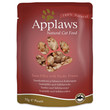 Applaws Natural Cat Pouches With Tuna And Pacific Prawn In Broth 12 X 70g