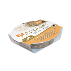 Applaws Natural Cat Food Pots With Chicken Breast And Duck In Broth 10 X 60g
