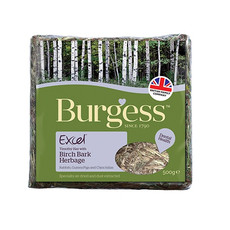 Burgess Excel Birch Bark Feeding Hay Herbage 500g
