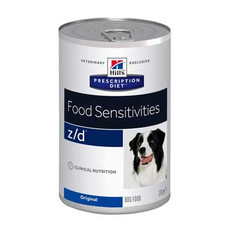 Hills Prescription Diet Z/d Canine Food Sensitivities Original Wet Tins 12x370g