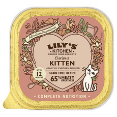 Lilys Kitchen Grain Free Curious Kitten Food 19 X 85g