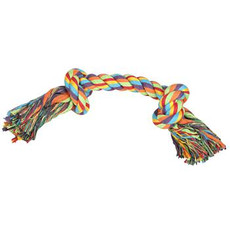 Happy Pet 2 Knot Tug Rope Dog Toy Small To Large