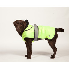 Danish Design 2 In 1 Four Seasons High Visibility Dog Coat 10in To 30in