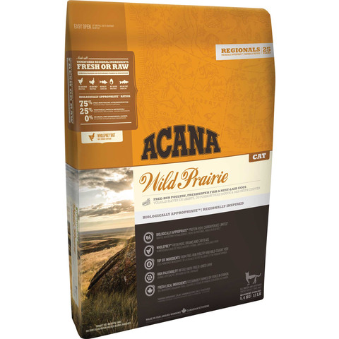 Acana Regionals Wild Prairie Grain Free All Life Stage Cat Food 5.4kg