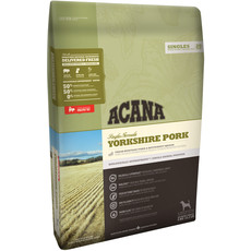 Acana Singles Grain Free Yorkshire Pork All Breeds & Life Stage Dog Food 11.4kg To 2 X 11.4kg