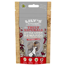 Lilys Kitchen The Truly Naturals Little Liver Rewards Treats For Dogs 8 X 40g