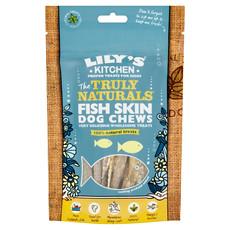 Lilys Kitchen The Truly Naturals Fish Skin Dog Chews 8 X 75g