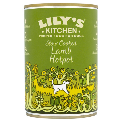 Lilys Kitchen Proper Food For Dogs Slow Cooked Lamb Hotpot 6 X 400g