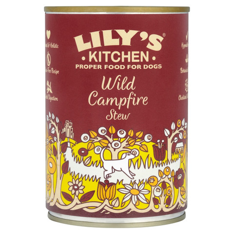 Lilys Kitchen Proper Food For Dogs Wild Campfire Stew 6 X 400g