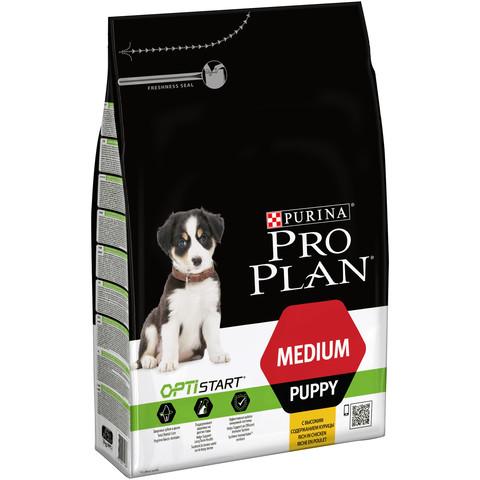 Pro Plan Medium Breed Optistart Puppy Food With Chicken 3kg To 12kg