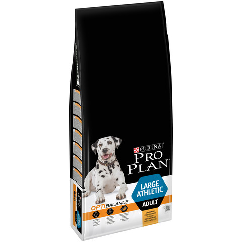 Pro Plan Large Breed Athletic Optibalance Adult Dog Food With Chicken 14kg